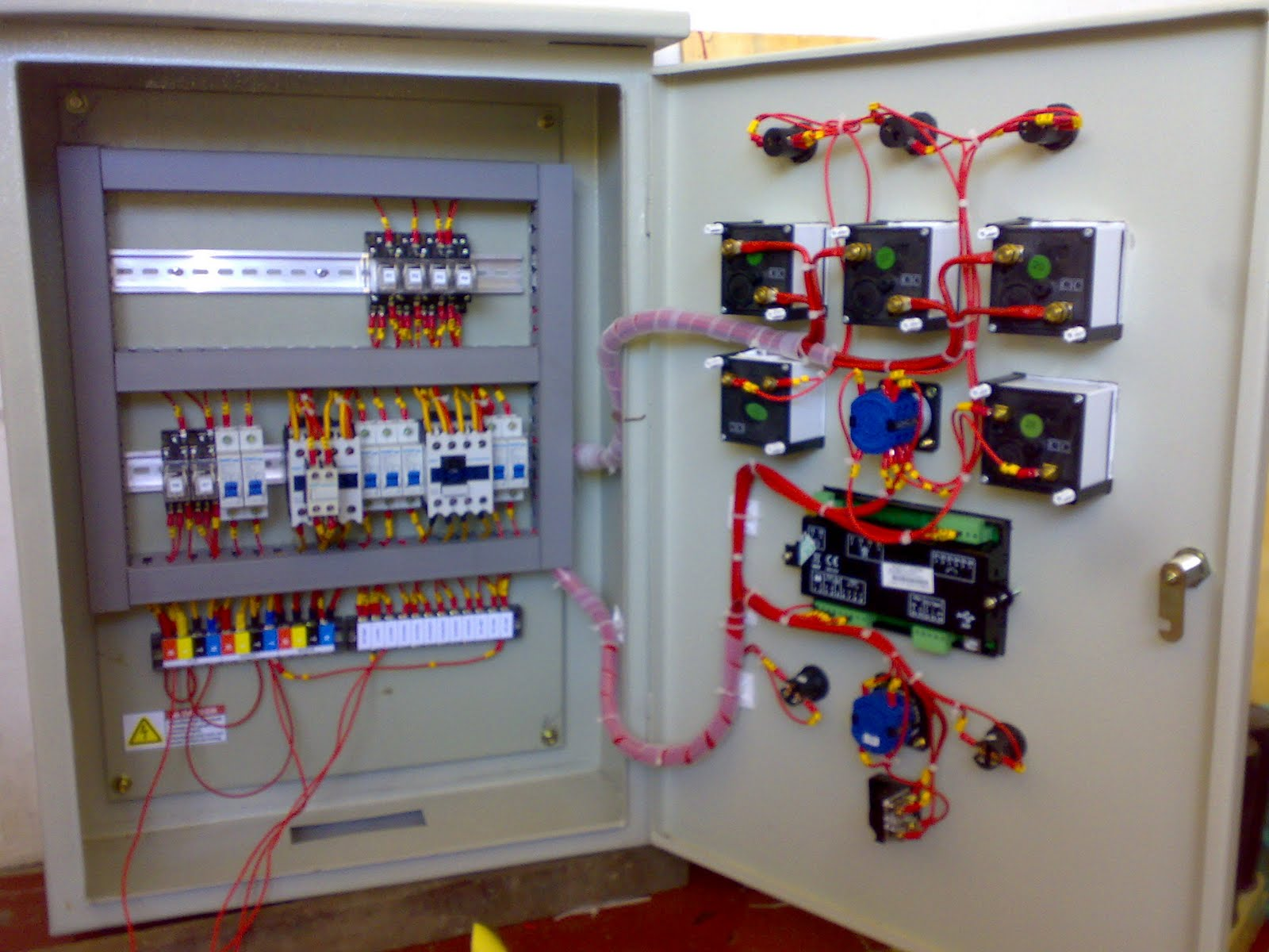 Pemilihan Jenis Modul Amf Automatic Main Failure Panel Wiring Diagram Ats 100kva