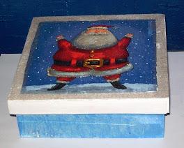 Caixa de Papai Noel 20X20