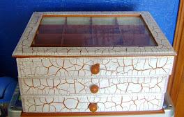 Caixa porta jóias