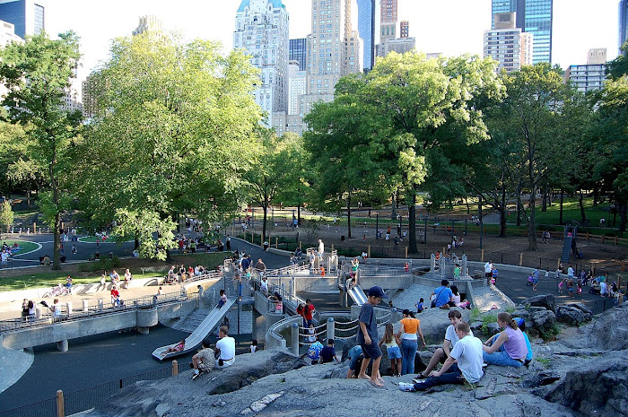 Central Park.. en verano