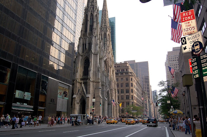 Saint Patrick desde la 5th Avenida
