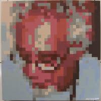 Kira: Retrato em quadrículas