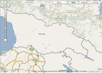 Google Maps: Geórgia