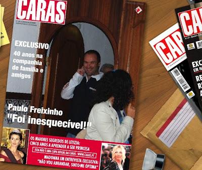 Seja capa da revista CARAS