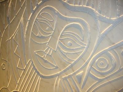 Foto: Mestre Malangatana - Inauguração do elemento escultórico Paz e Amizade - Barreiro