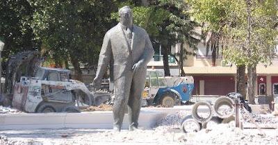 Foto: O regresso da estátua de Alfredo da Silva