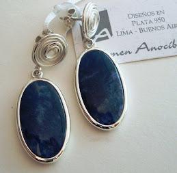 Aretes Sueño azul