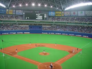 ไปดูกีฬาเบสบอลที่