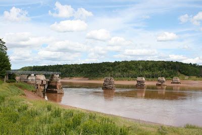 Shubenacadie river bridge