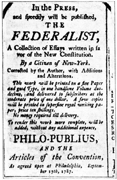 federalist papers 10 explanation