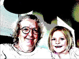 Lulu and Grandma