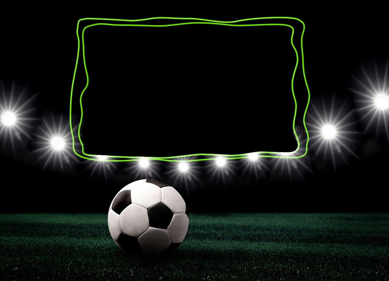 Moldura Bola De Futebol