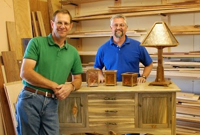 Dale Williams And Jeff Tish Of Pinecone Furniture Have Moved Some Of Their  Furniture Pieces Into The Artful Hands Studio And Gallery In Cheyenne Owned  By ...