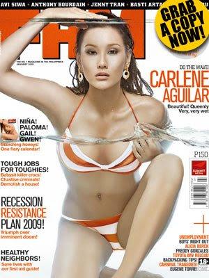 Carlene Aguilar, FHM Versus Valerie Concepcion, Maxim