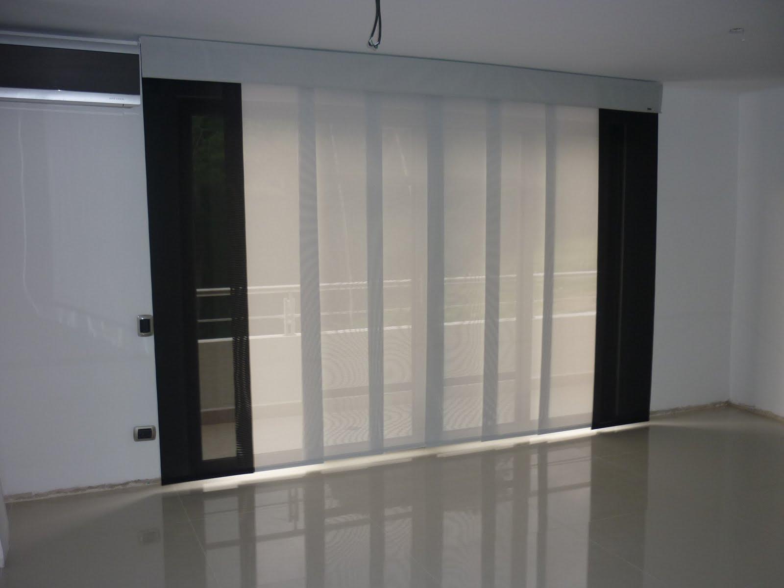 Persianas y cortinas emmanuel panel japones - Tela para panel japones ...