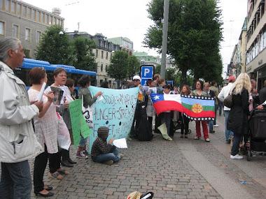 Movilizacion en Gotemburgo