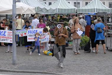 Manifestacion en Malmo (Suecia)