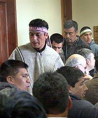 """Presos políticos mapuche increpan a """"testigo sin rostro"""" y demandan juicio justo"""