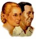 Juan Perón y María Eva Duarte