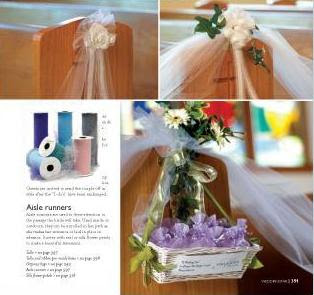 SuperGiftPlace Wedding Blog: Church Wedding Decoration Ideas