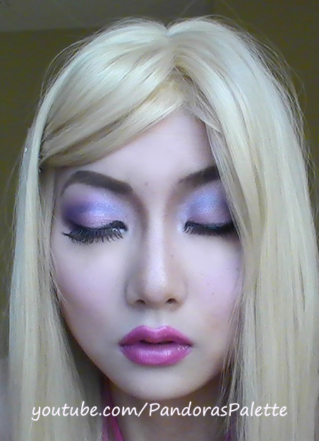 doll makeup tutorial. Cute Barbie Doll Makeup