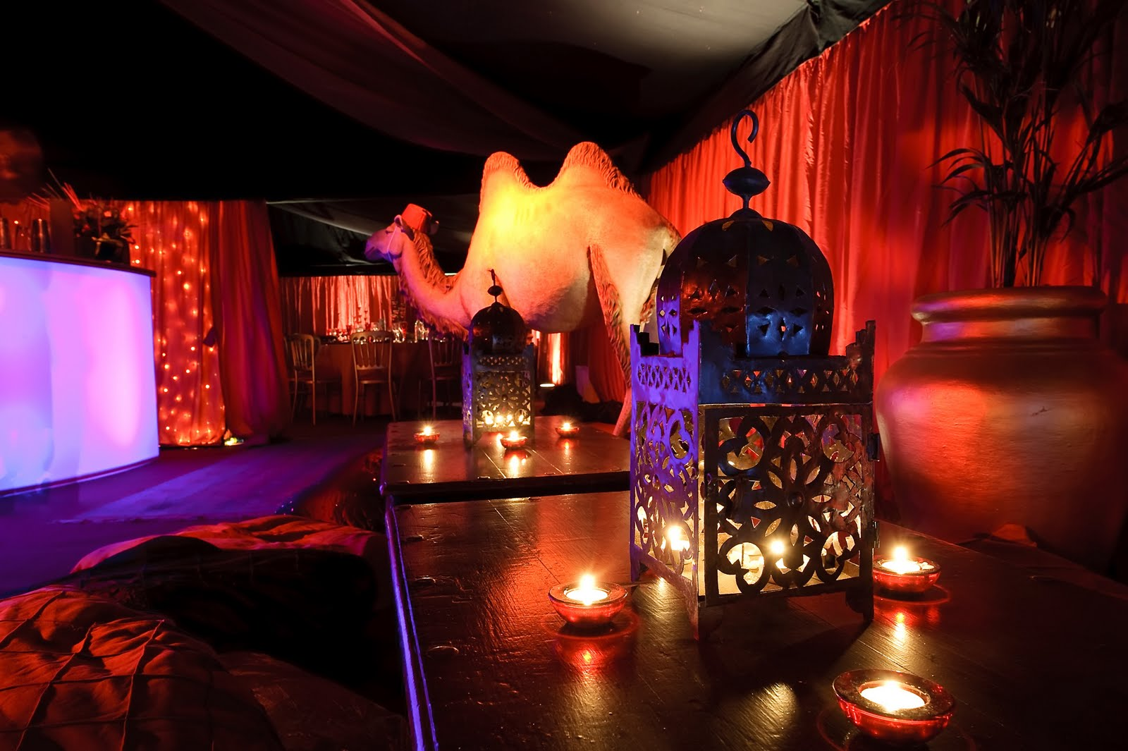 Marquees pavilions ginny loisel 39 s arabian nights for Arabian nights decoration