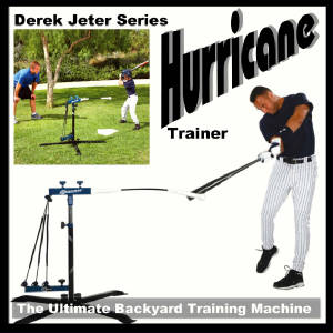 Has Derek jeter swinging really. And
