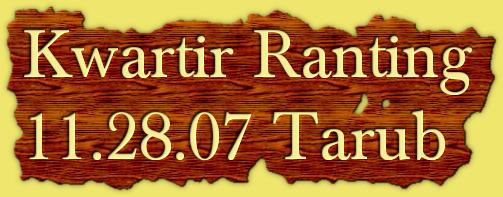 Kwarran 11.28.07 Tarub