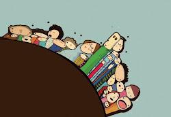 Regalen libros : Caramelos sueltos, Mundo bolita, Menta y Minúsculas...