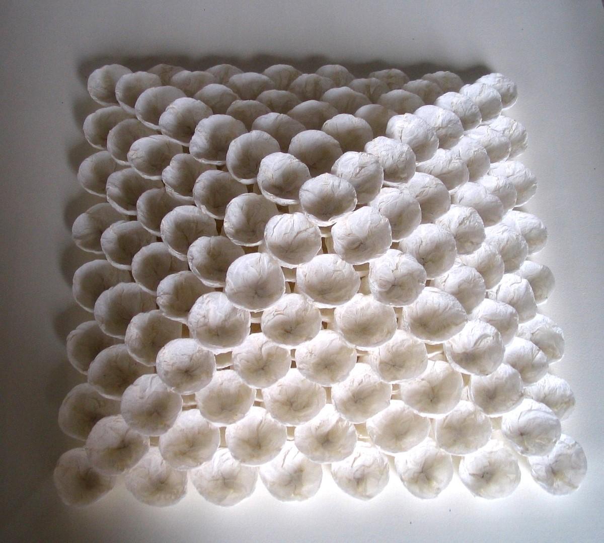 Colette et la cigogne sculptures de papier for Architecture papier