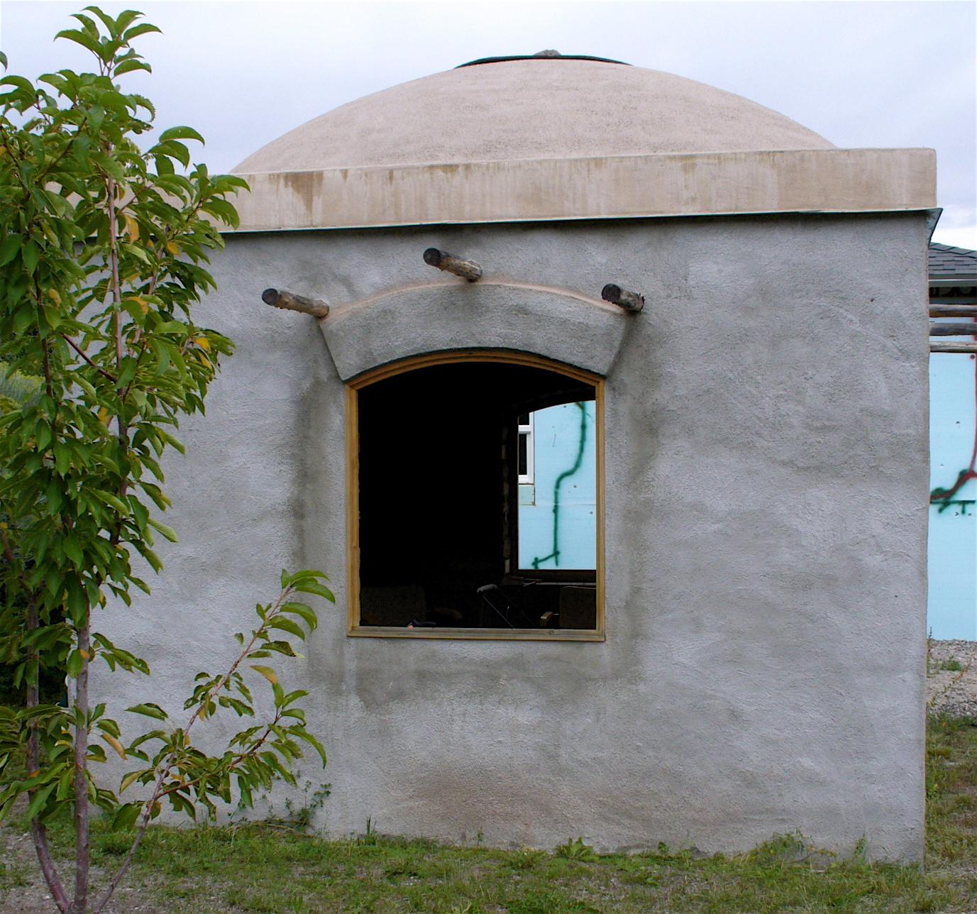 Alt build blog an adobe dome building - How to build an adobe house ...