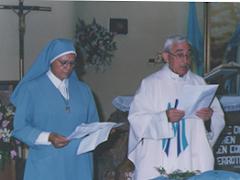 Fray Aurelio Malagón y Madre Maria Gertrudis Moncada