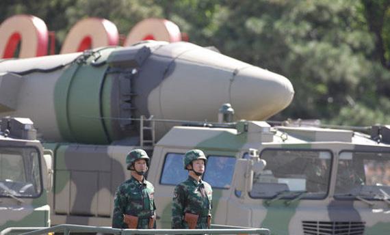 Dongfeng-21D medium-range ballistic missile