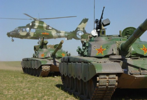 CCTV - Página 2 Chinese+99+tanks,99-1-735806