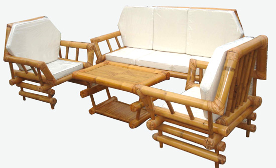 Bamboo Furniture Set (11 Image)