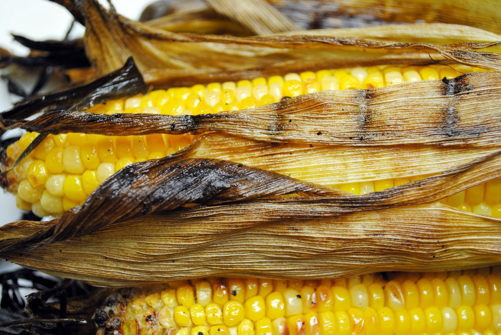 Grilled Corn on the Cob with Chipotle Butter
