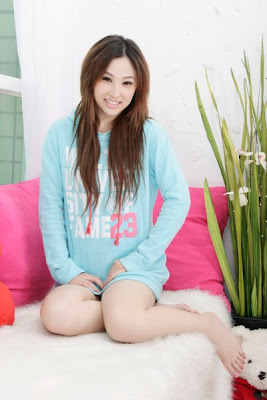 Wang Xin Yi Really Cute Chinese Model