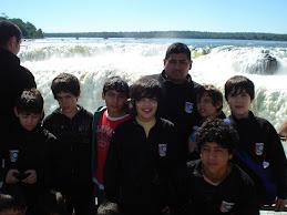 En las Cataratas del Iguazu