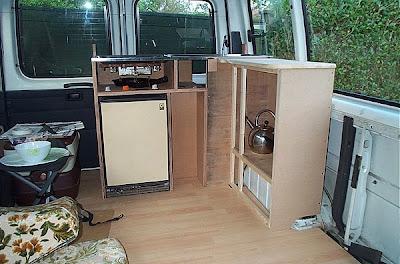 self build camper van DIY conversion
