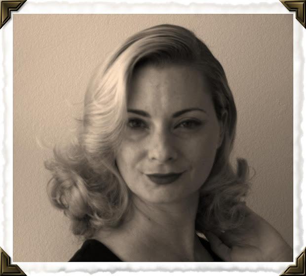 1950s housewife hair