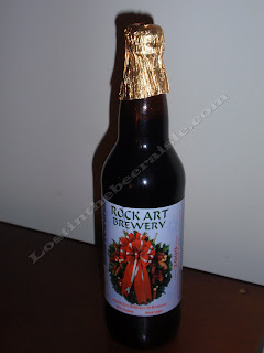 Rock Art Mountain Holidays in Vermont Rich Creamy Bock Lager