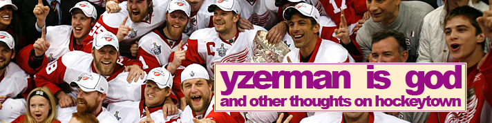 yzerman is god