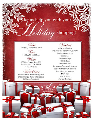LCJ DESIGNS: Corporate Holiday Flyer