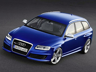 Audi Rs6 Avant blue