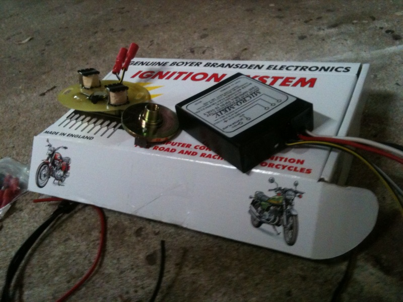 Me And This Motorcycle: Installed the Boyer Electronic Ignition