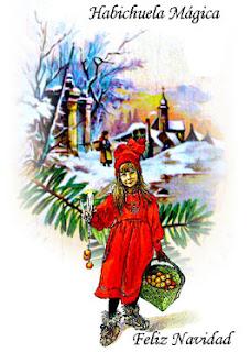 Hechizos y conjuros feliz navidad - Postal navidad original ...
