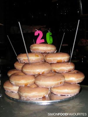 Krispy Kreme Doughnut Birthday Cake Porn 24 July 2009