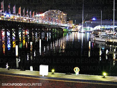 Simon food favourites helm bar drinks with a water view for The balcony bar sydney