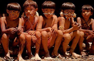 Misteri Bentuk Kepala Suku Amazon