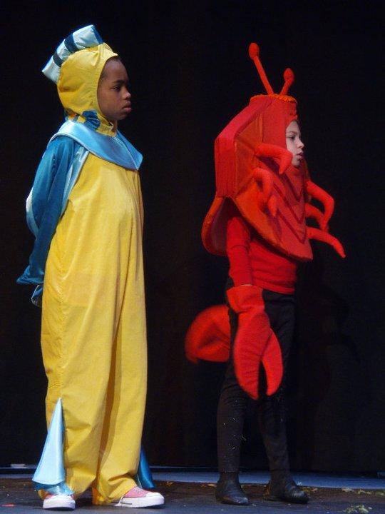 Little Mermaid And Flounder Costume High Res Payton Kemp Flounder